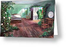 Dorothy's House After The Passage Of Time Greeting Card