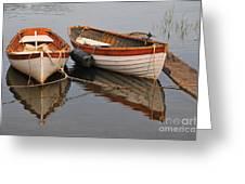 Dory Morning Reflection Greeting Card