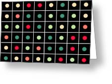 Dotted Grid Greeting Card