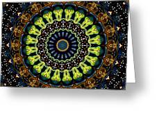 Dotted Wishes No. 3 Kaleidoscope Greeting Card