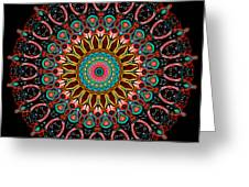 Dotted Wishes No. 4 Mandala Greeting Card