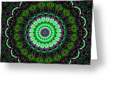 Dotted Wishes No. 6 Kaleidoscope Greeting Card