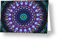 Dotted Wishes No. 7 Kaleidoscope Greeting Card