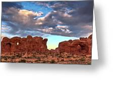 Double Arch 1 Greeting Card