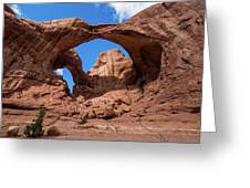 Double Arch Greeting Card