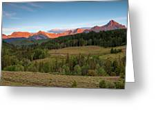 Double Rl Ranch Greeting Card