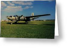 Douglas A-26 Invader Eaa Greeting Card