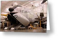 Douglas C 124c Globemaster Plane Greeting Card