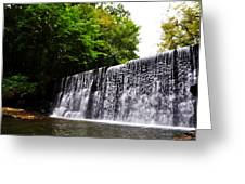 Dove Lake Waterfall Greeting Card