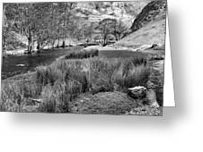 Dovedale, Peak District Uk Greeting Card by John Edwards