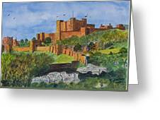 Dover Castle Kent Greeting Card