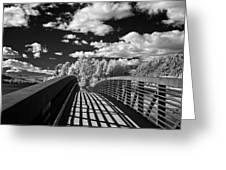 Dover Slough Bridge 1 Greeting Card