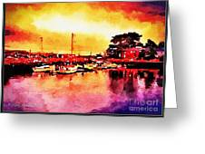 Down By Dock 2 Greeting Card