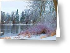 Down By The Riverbend Greeting Card