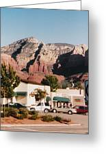 Down In Sedona Greeting Card