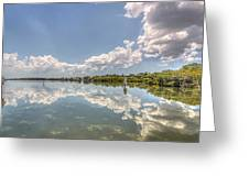 Down The Bay Greeting Card