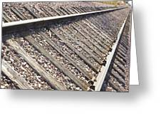 Down The Railroad Greeting Card
