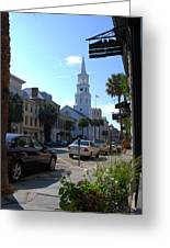 Down Town Charleston Greeting Card