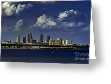 Down Town Tampa Greeting Card