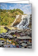 Downstream From Ithaca Falls Greeting Card