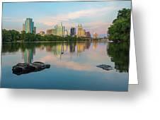 Downtown Austin Texas Skyline 2 Greeting Card