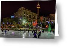 Downtown Christmas Greeting Card