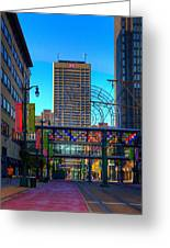 Downtown Color Greeting Card