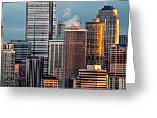 Downtown Detail Greeting Card