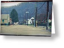 Downtown Harlan Greeting Card