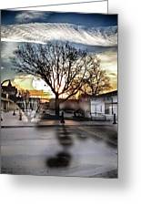 Downtown Hdr Atchison Greeting Card