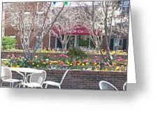 Downtown, Hendersonville, Nc Greeting Card