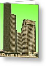 Downtown Hi-rise Greeting Card