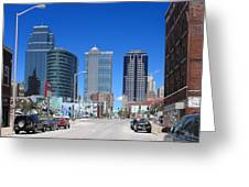 Downtown Kansas City Greeting Card
