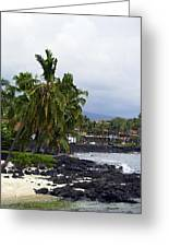 Downtown Kona Greeting Card