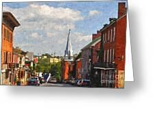 Downtown Lexington 3 Greeting Card