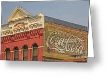 Downtown Livingston Montana Greeting Card