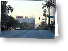 Downtown Los Angeles 0686 Greeting Card