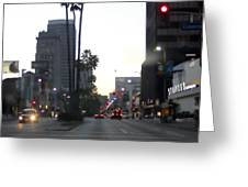Downtown Los Angeles 0698 Greeting Card