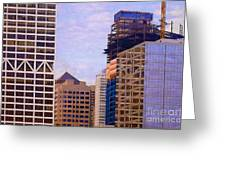 Downtown Milwaukee - 2 Greeting Card