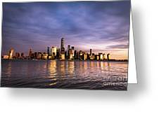 Downtown Nyc Greeting Card