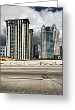 Downtown Orlando, Florida Greeting Card