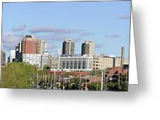 Downtown Ottawa In Distance Greeting Card by Richard Mitchell