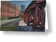 Downtown Paradox Greeting Card