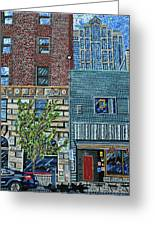 Downtown Raleigh - West Martin Street Greeting Card
