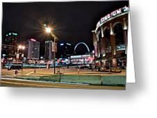 Downtown Saint Louis Greeting Card