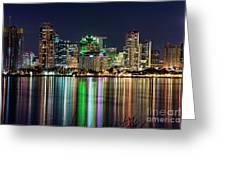 Downtown San Diego Greeting Card