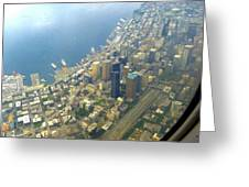Downtown Seattle Greeting Card