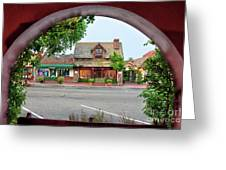 Downtown Solvang Greeting Card