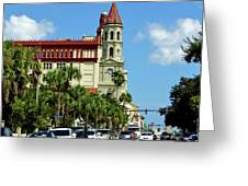 Downtown St Augustine Greeting Card