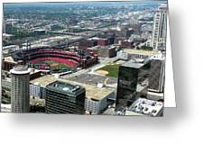 Downtown St. Louis 2 Greeting Card